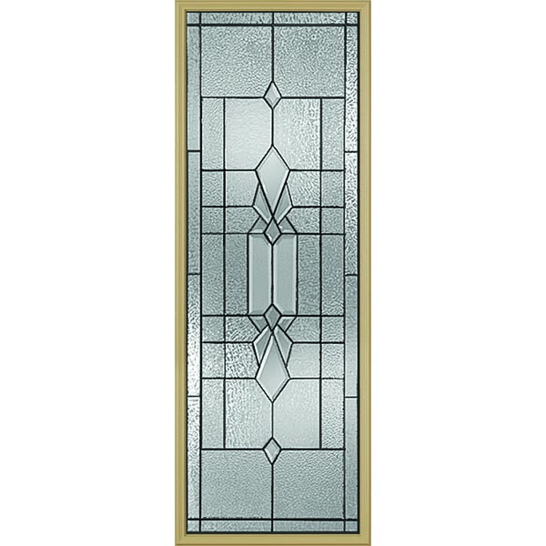 "Western Reflections Jameston Door Glass - 24"" x 66"" Frame Kit"