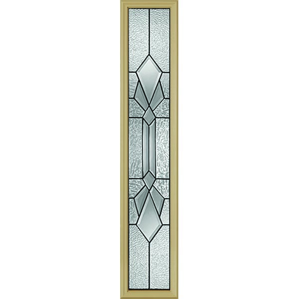 "Western Reflections Jameston Door Glass - 10"" x 50"" Frame Kit"