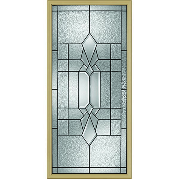 "Western Reflections Jameston Door Glass - 24"" x 50"" Frame Kit"