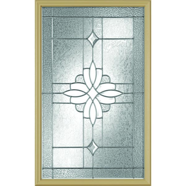 "Western Reflections Laurel Door Glass - 22"" x 38"" Frame Kit"