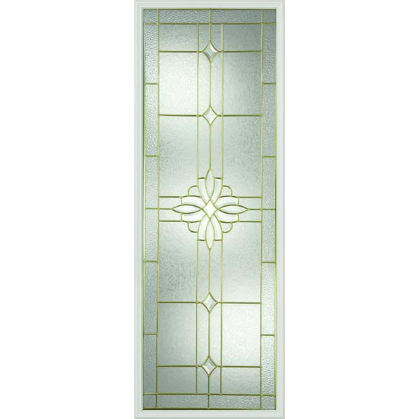 "Western Reflections Impact Resistant Laurel Door Glass - 24"" x 66"" Frame Kit"