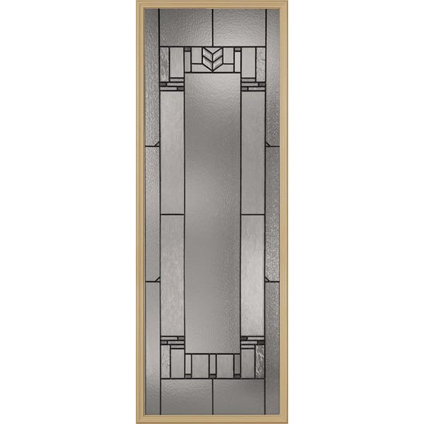 "Western Reflections Leighton Door Glass - 24"" x 66"" Craftsman Frame Kit"