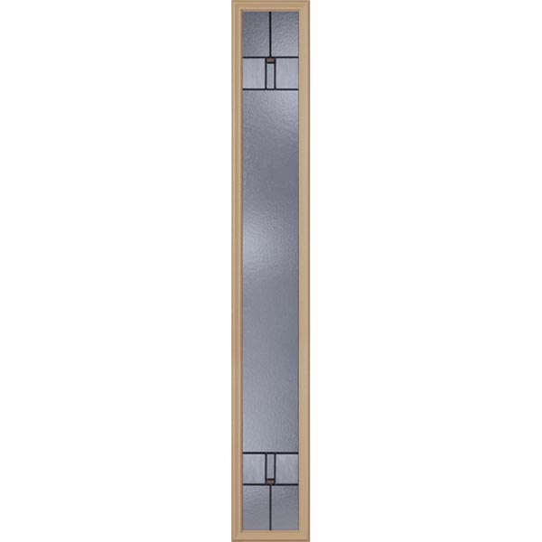 "Western Reflections Leighton Door Glass - 10"" x 66"" Frame Kit"