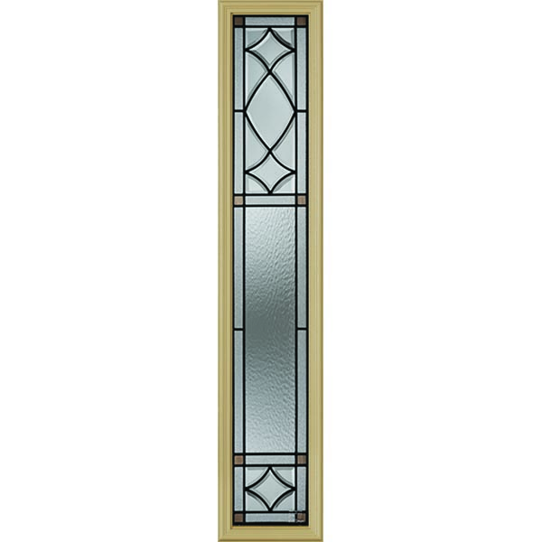 "Western Reflections London Door Glass - 10"" x 50"" Frame Kit"