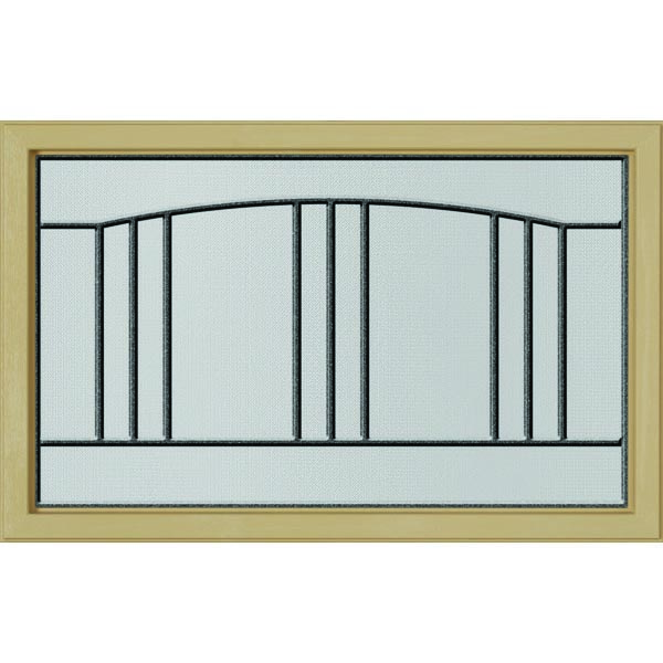"ODL Madison Door Glass - 27"" x 17.25"" Craftsman Frame Kit"