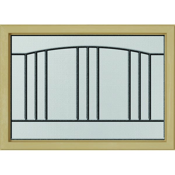 "ODL Madison Door Glass - 24"" x 17.25"" Craftsman Frame Kit"
