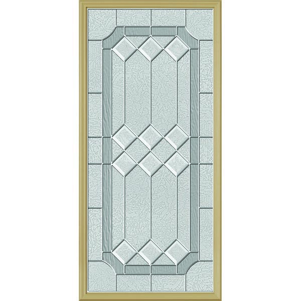 "ODL Majestic Elegance Door Glass - 24"" x 50"" Frame Kit"