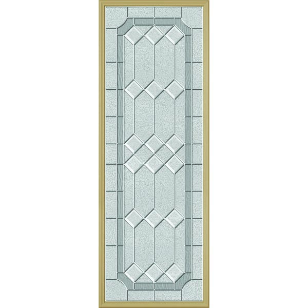 "ODL Majestic Elegance Door Glass - 22"" x 66"" Frame Kit"