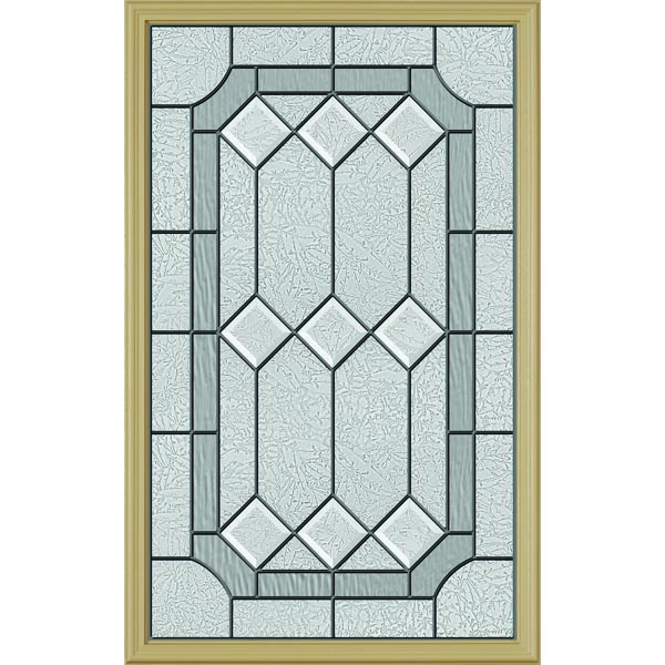 "ODL Majestic Elegance Door Glass - 24"" x 38"" Frame Kit"