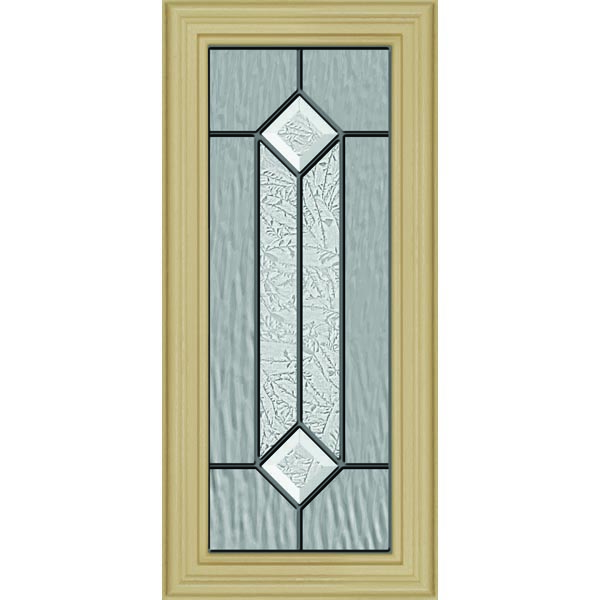 "ODL Majestic Elegance Door Glass - 9.5"" x 20.5"" Frame Kit"