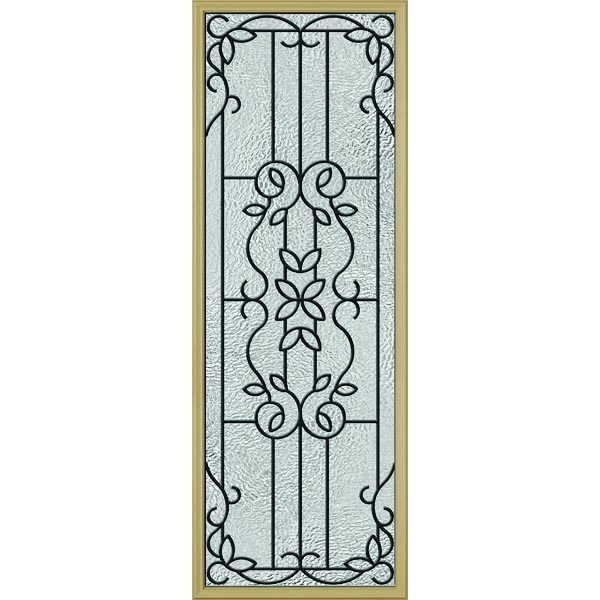 "ODL Mediterranean Door Glass - 24"" x 66"" Frame Kit"