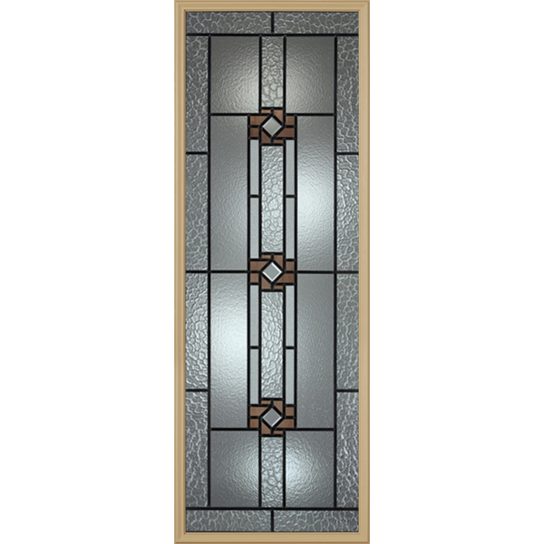 "Western Reflections Mission Ridge Door Glass - 24"" x 66"" Frame Kit"