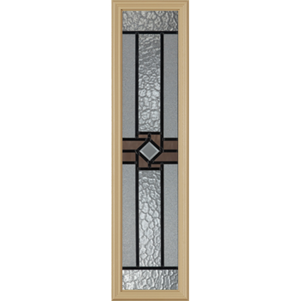 "Western Reflections Mission Ridge Door Glass - 10"" x 38"" Frame Kit"