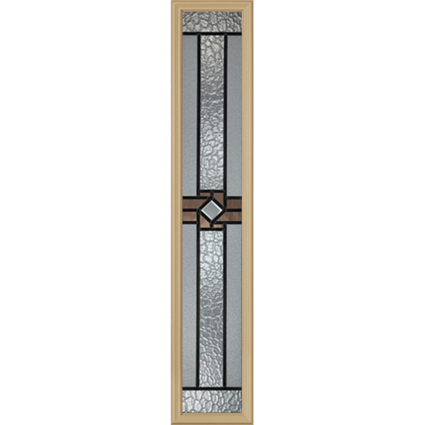 "Western Reflections Mission Ridge Door Glass - 10"" x 50"" Frame Kit"