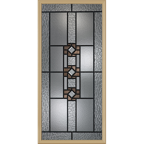 "Western Reflections Mission Ridge Door Glass - 24"" x 50"" Frame Kit"