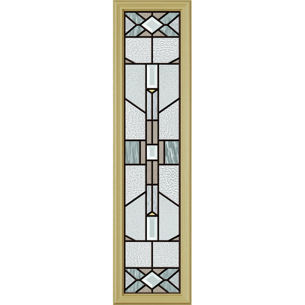 "ODL Mohave Door Glass - 10"" x 38"" Frame Kit"