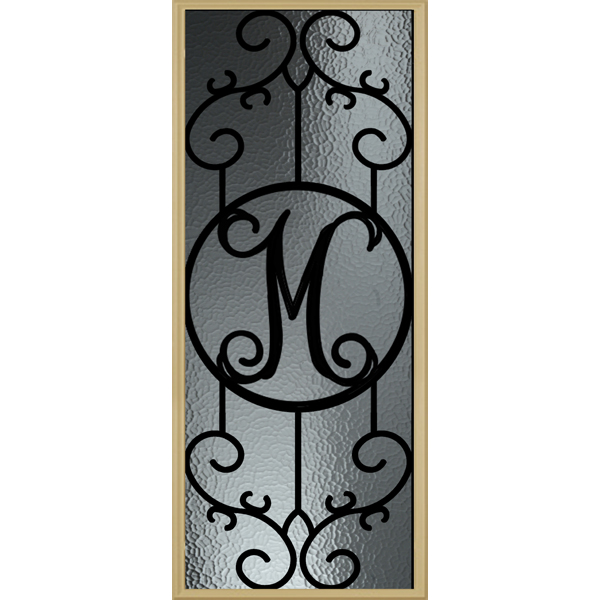 "Zabitat Monogram Metalist- M - 24"" x 50"" Evolve Frame Kit"