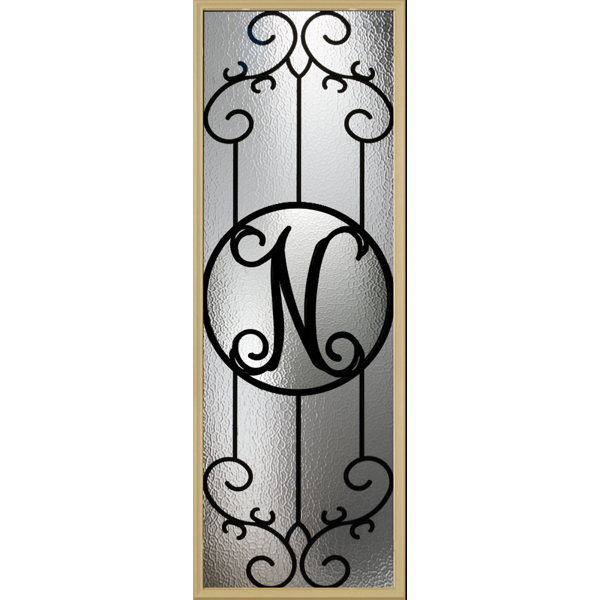"Zabitat Monogram Metalist- N - 24"" x 66"" Evolve Frame Kit"