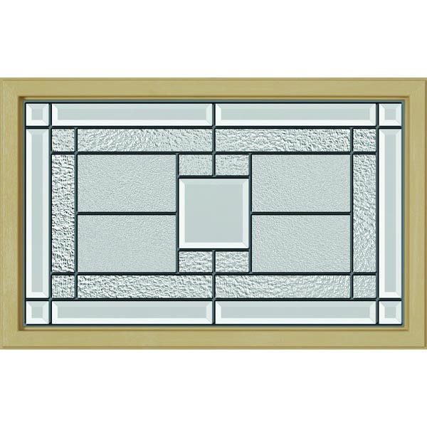 "ODL Monterey Door Glass - 27"" x 17.25"" Craftsman Frame Kit"