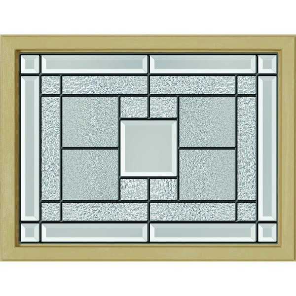 "ODL Monterey Door Glass - 23.313"" x 17.938"" Craftsman Frame Kit"