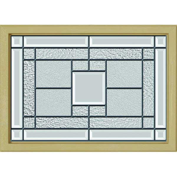 "ODL Monterey Door Glass - 24"" x 17.25"" Craftsman Frame Kit"