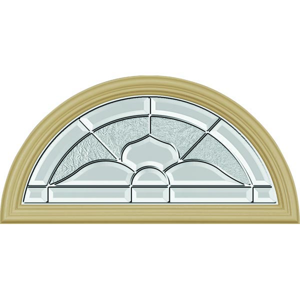 "ODL Nouveau Door Glass - 23.797"" x 11.813"" Frame Kit"
