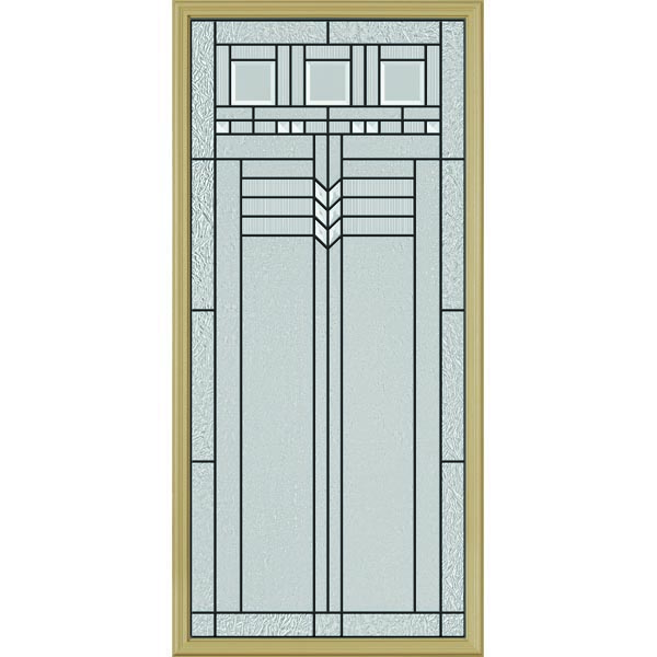 "ODL Oak Park Door Glass - 24"" x 50"" Frame Kit"