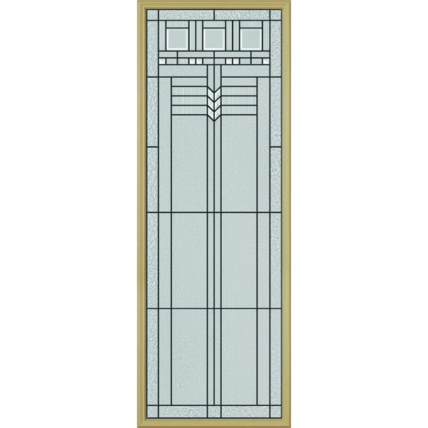 "ODL Oak Park Door Glass - 24"" x 66"" Frame Kit"
