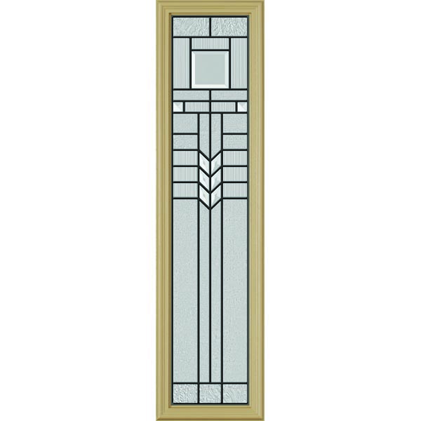 "ODL Oak Park Door Glass - 10"" x 38"" Frame Kit"