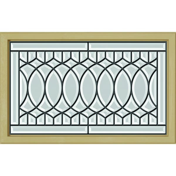 "ODL Paris Door Glass - 27"" x 17.25"" Craftsman Frame Kit"