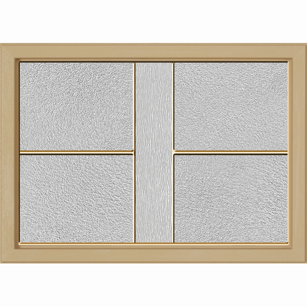"ODL Destinations Door Glass - Parkway - 24"""" x 17.25"""" Craftsman Frame Kit"