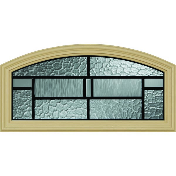 "Western Reflections Pembrook Door Glass - 24"" x 12"" Frame Kit"