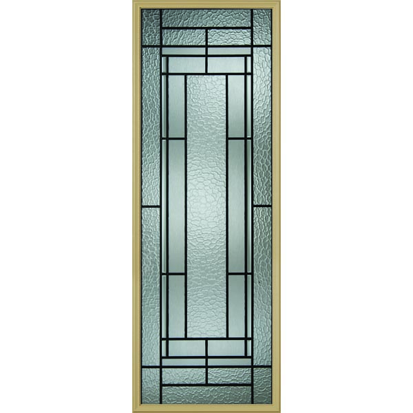 "Western Reflections Pembrook Door Glass - 24"" x 66"" Frame Kit"