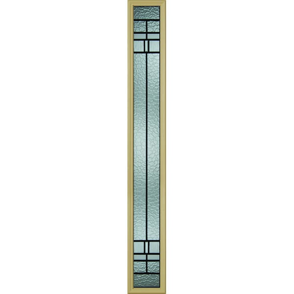 "Western Reflections Pembrook Door Glass - 9"" x 66"" Frame Kit"