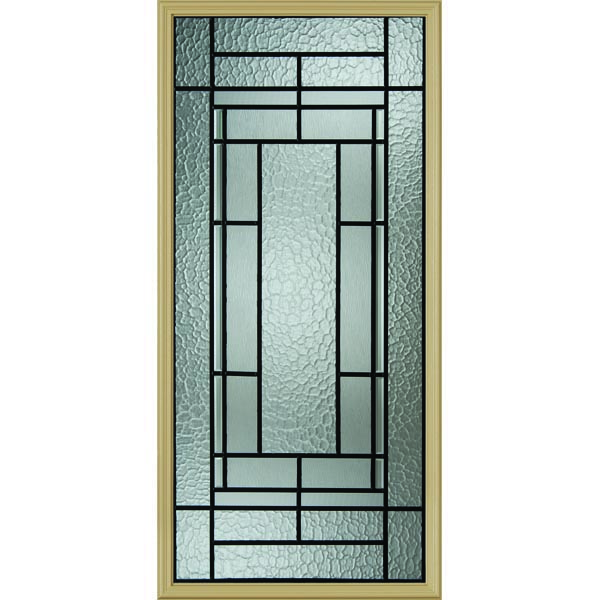 "Western Reflections Pembrook Door Glass - 24"" x 50"" Frame Kit"