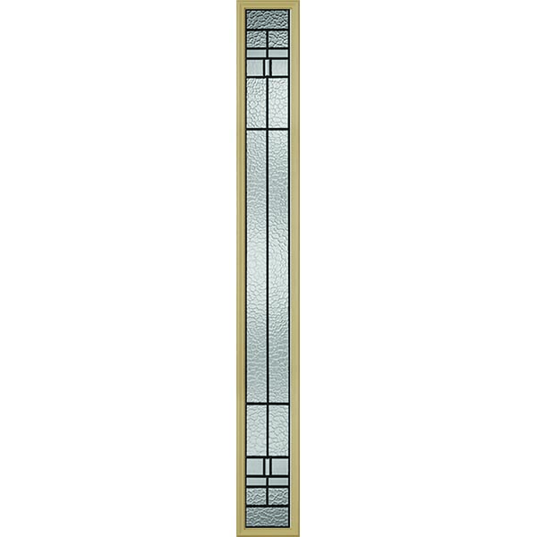 "Western Reflections Pembrook Door Glass - 10"" x 82"" Frame Kit"