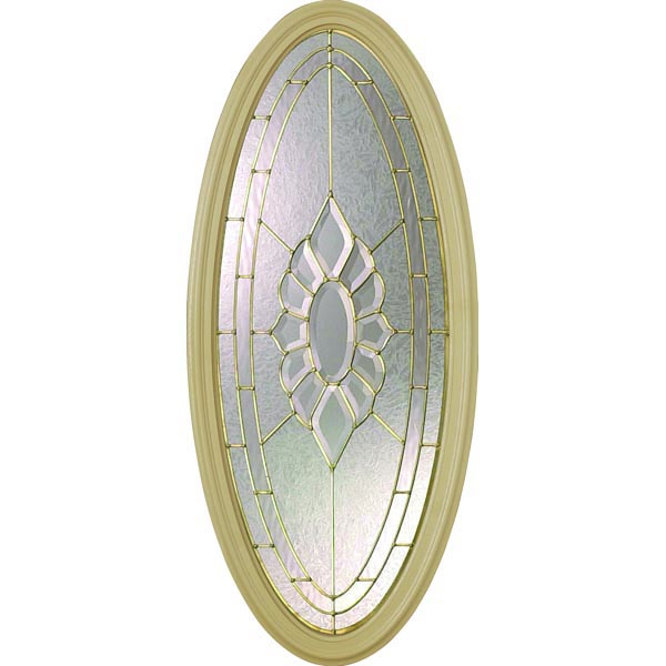 "Western Reflections Princess Door Glass - 17.514"" x 41.389"" Frame Kit"
