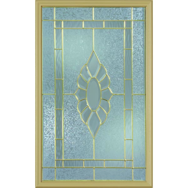 "Western Reflections Princess Door Glass - 24"" x 38"" Frame Kit"