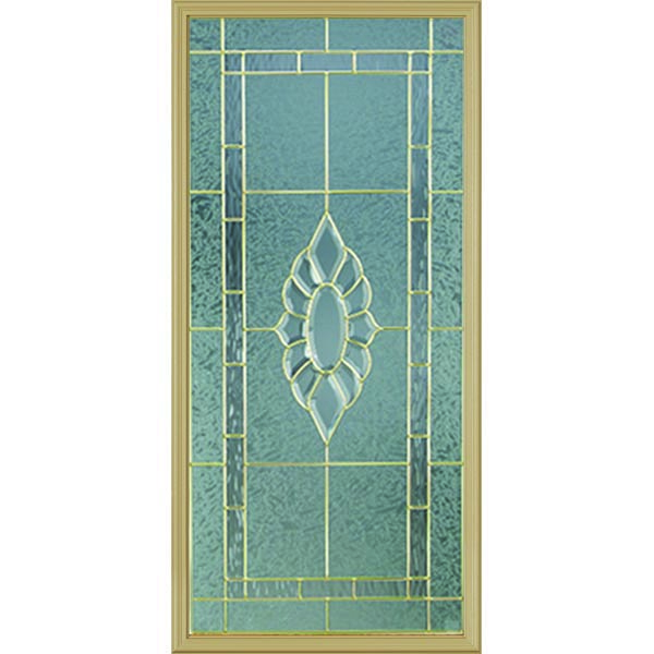 "Western Reflections Princess Door Glass - 24"" x 50"" Frame Kit"