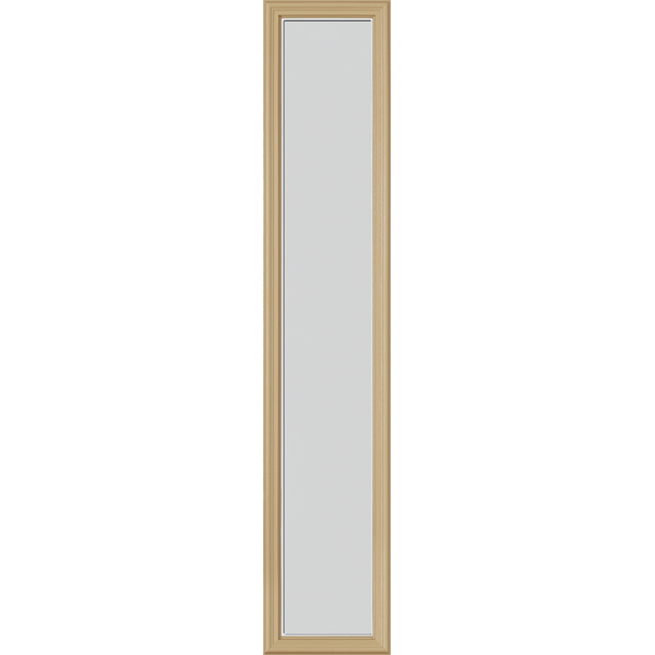 "Image for ODL Perspectives Low-E Door Glass - Blanca - 10"" x 50"" Frame Kit from Zabitat"