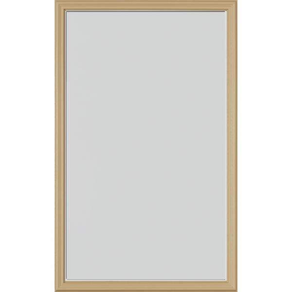 "Image for ODL Perspectives Door Glass - Blanca - 24"" x 38"" Frame Kit from Zabitat"