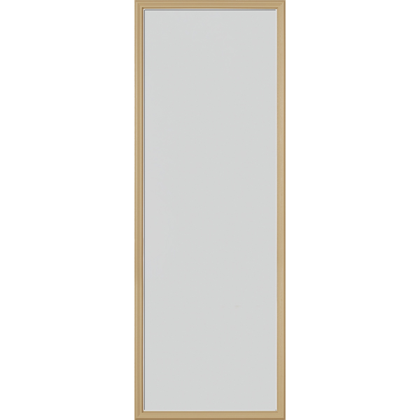 "Image for ODL Perspectives Low-E Door Glass - Blanca - 24"" x 66"" Frame Kit from Zabitat"