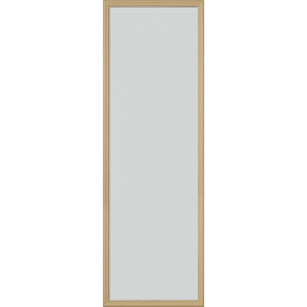 "Image for ODL Perspectives Low-E Door Glass - Blanca - 22"" x 66"" Frame Kit from Zabitat"