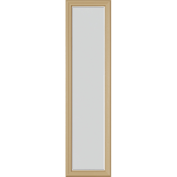 "Image for ODL Perspectives Low-E Door Glass - Blanca - 10"" x 38"" Frame Kit from Zabitat"