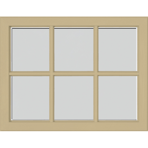"Image for ODL Perspectives Low-E Door Glass - Blanca - 23.313"" x 17.938"" Craftsman Frame Kit from Zabitat"