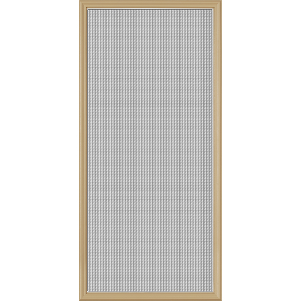 "Image for ODL Perspectives Low-E Door Glass - Textured Geo-Tex - 24"" x 50"" Frame Kit from Zabitat"