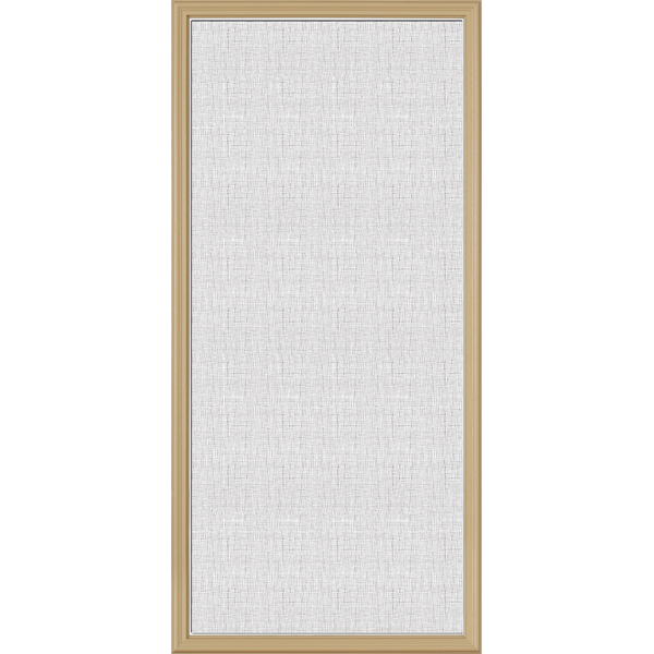 "ODL Perspectives Low-E Door Glass - Linen - 24"" x 50"" Frame Kit"