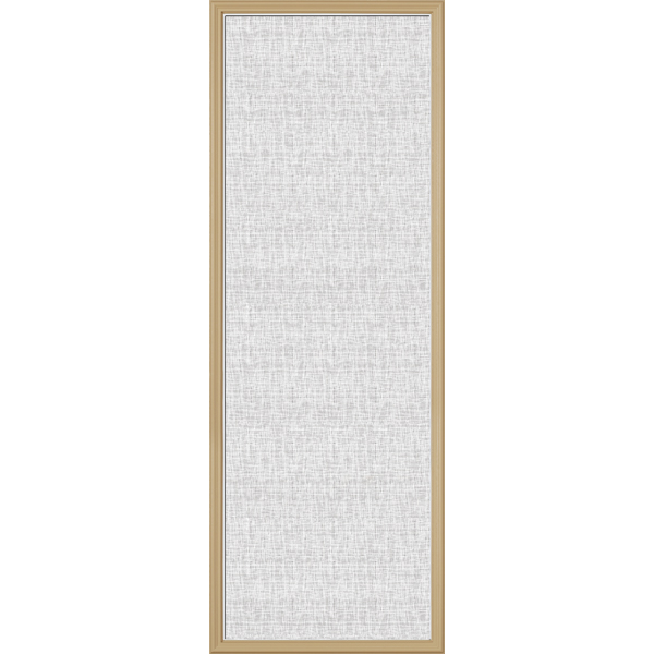"ODL Perspectives Low-E Door Glass - Linen - 24"" x 66"" Frame Kit"