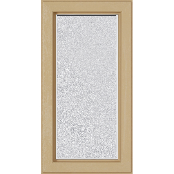 "Image for ODL Perspectives Low-E Door Glass - Micro-Granite - 9"" x 17.25"" Craftsman Frame Kit from Zabitat"