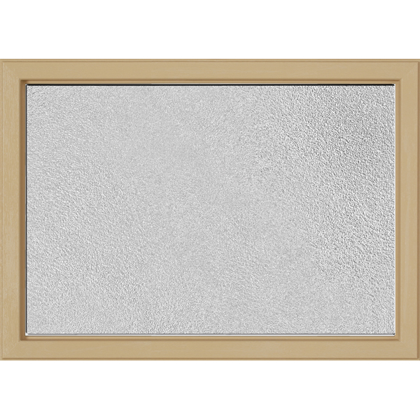 "Image for ODL Perspectives Low-E Door Glass - Micro-Granite - 24"" x 17.25"" Craftsman Frame Kit from Zabitat"
